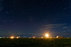 Stars vs Gas Flaring on the Pawnee by Fort Photo