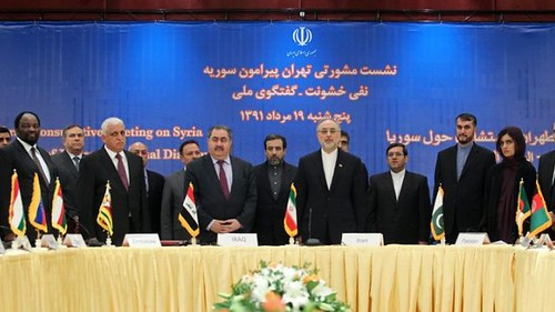 Iran Conference on Syria May 29, 2013 in Tehran. The western imperialists have escalated their attacks on both Damascus and the Islamic Republic. by Pan-African News Wire File Photos