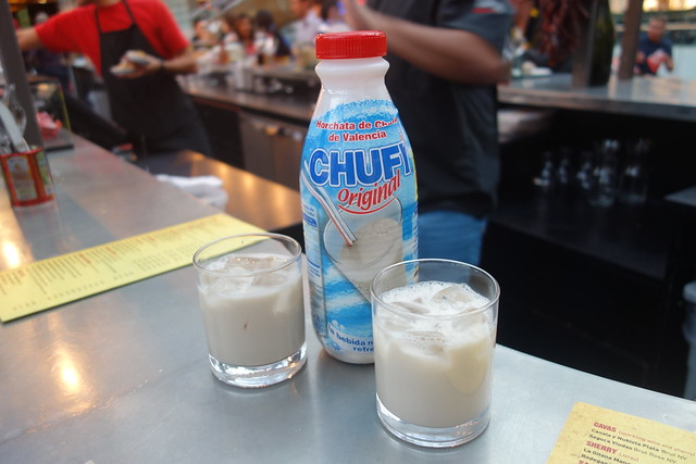 tapas revolution review, horchata, chufi
