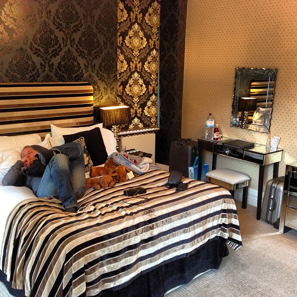 Romantic Country Hotels Uk: Funky Room At The Cranleigh In Bowness In Lake District