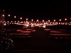 Private House Wedding - 7000 sq ft Festoon Lighting Design - String Lighting - Outdoor - Intelligent Lighting Design - www.ildlighting.com