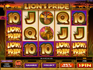 Lion's Pride Slot Machine