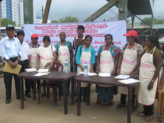 2013-6-16 Sri Lanka Domestic Workers Launch signature campaign for Legal Act