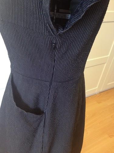 seersucker Simplicity 1577 zipper