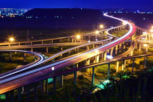 bridge canon landscape highway taiwan getty taichung express 台灣 建築 風景 gettyimages interchange 台中 清水 攝影 交流道 國道 三號 四號 5d2 清水交流道 chingshuei hybai