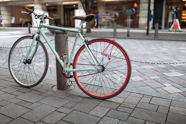 20130704_03_Tokyo Ginza Marunouchi Bicycle