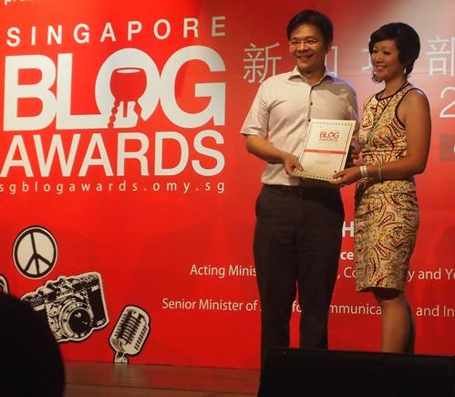 Singapore Blog Awards 2013