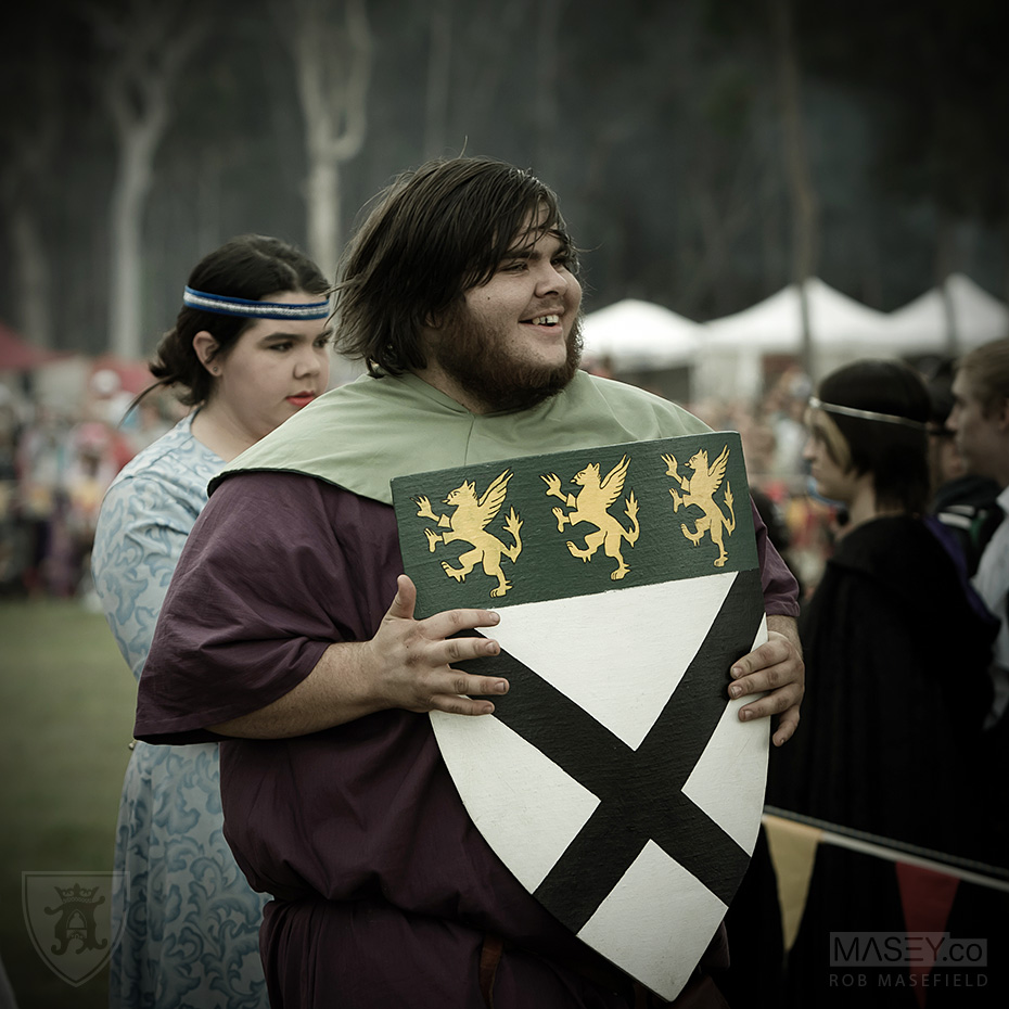 The medieval visual feasts of the Abbey Tournament and Festival.