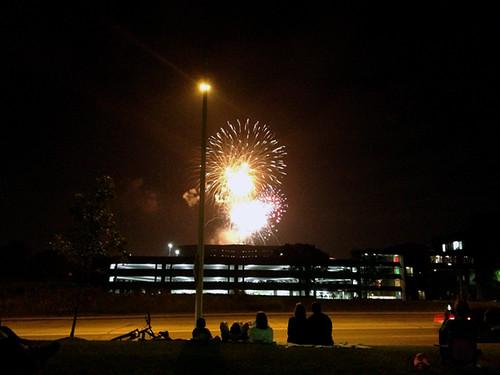 Fireworks in Wheaton