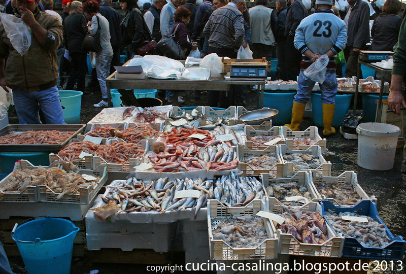 Catania Fischmarkt 2