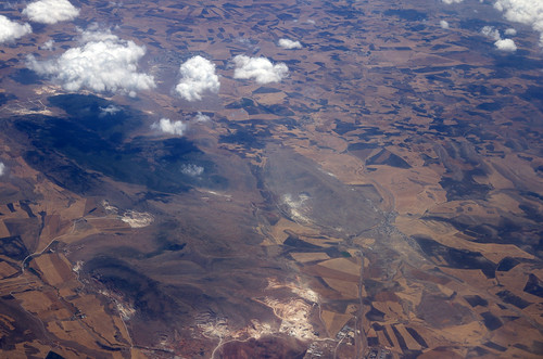 africa plane landscape algeria fly flying view aero aerocraft