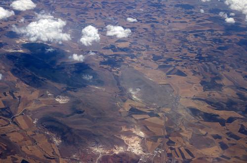 africa plane landscape algeria fly flying view aero aerocraft
