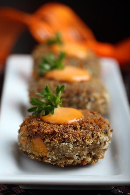Farro Crab Cakes