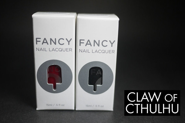 Fancy Nail Lacquer by Rainbow Honey Box and Packaging