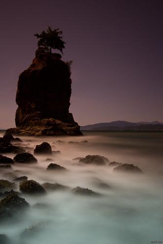 Dusk at Siwash Rock
