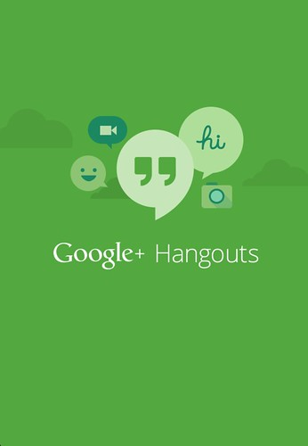 Screenshot: Google Hangout App 2013