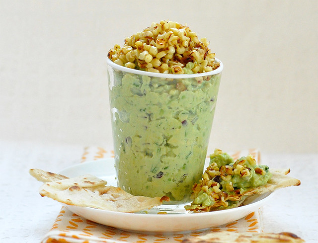 Creamy Avocado and Corn