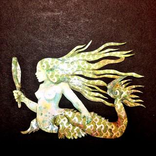 Papercut Mermaid