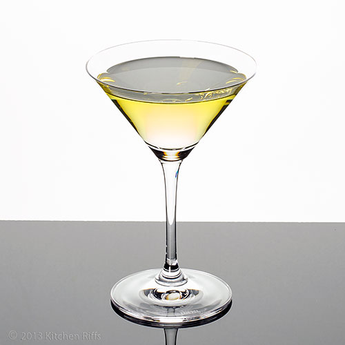 Alaska Cocktail in cocktail glass