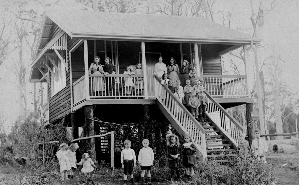 Unidentified school in the Albert Shire, Queensland, 1910-1920
