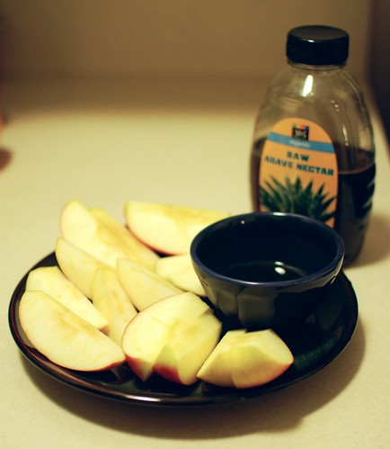 Apples and Agave Nectar