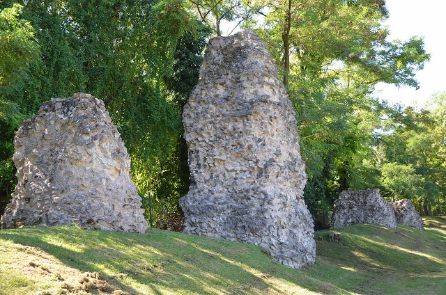 Remains of the Roman aqueduct of Mogontiacum (Mainz), Germany