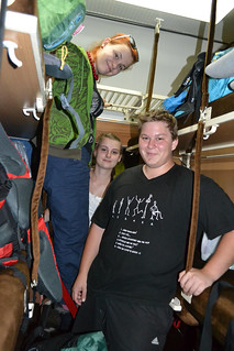 Interiér lůžkového vagónu linky Bělehrad - Sofie