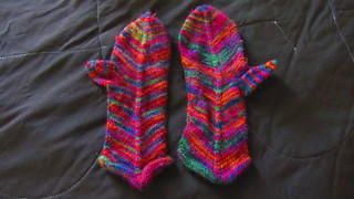 Elizabeth Zimmermann's Mitered Mittens, Knitting Pattern from the 1970s