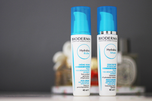 Bioderma Hydrabio Rich Moisturising Lotion and Bioderma Hydrabio Moisturising Concentrate