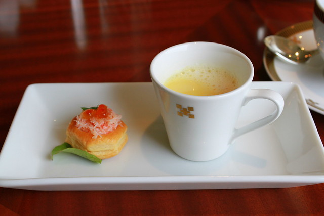 afternoon tea at Imperial Hotel Tokyo