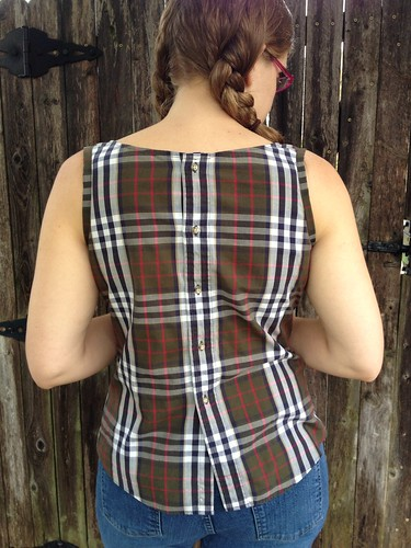 Refashion Runway Week 1:Plaid