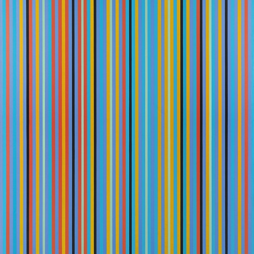 Praise I - Bridget Riley