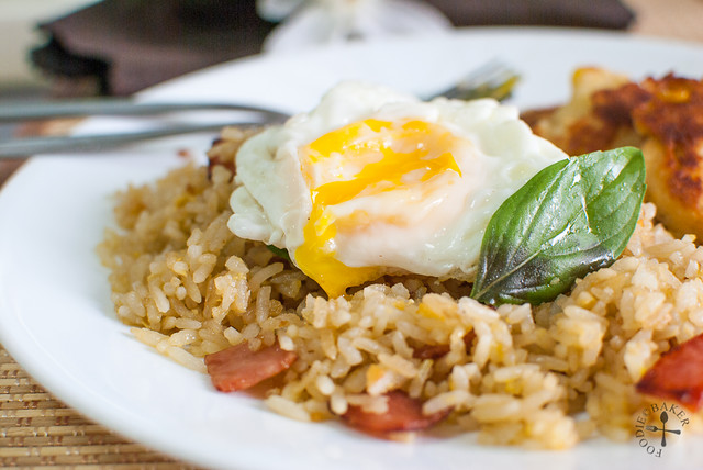 Coconut-Pandan-Garlic Fried Rice