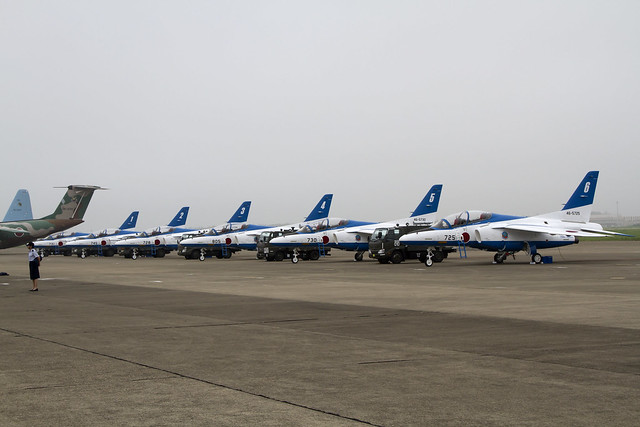 JASDF T-4 Blue Impulse