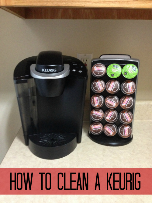 Keurig Coffee Maker Instructions For Cleaning : How to Clean a Keurig Handbags + Handguns Bloglovin
