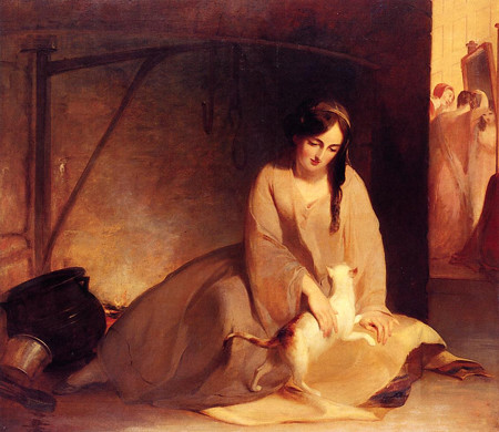 Thomas_Sully_XX__Cinderella_at_the_Kitchen_Fire_1843