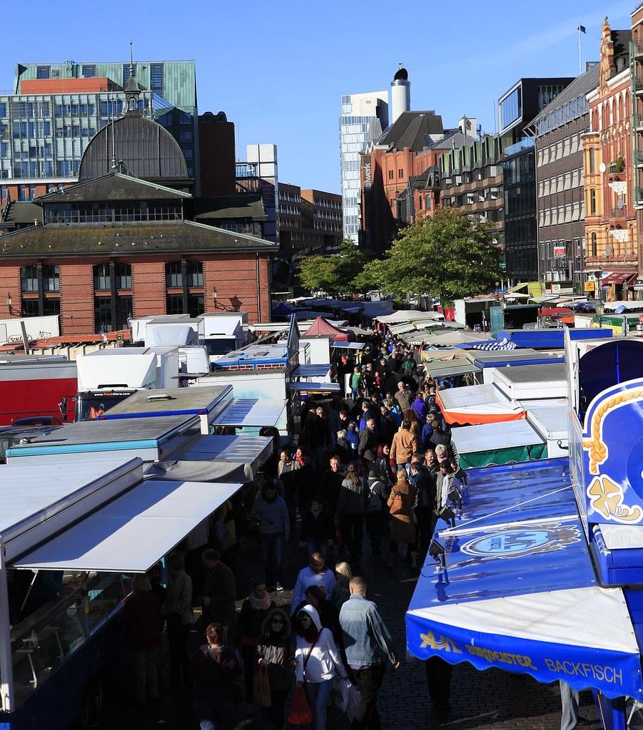 漢堡 假日魚市場