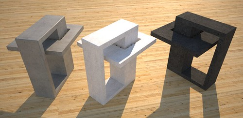Accent tables contemporary created by Designs by Rudy