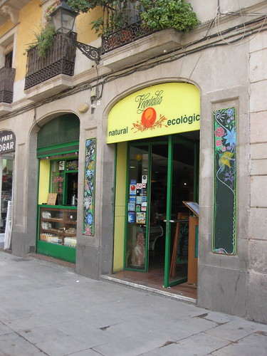 Vegetalia Restaurant. From Foodie Finds: Exploring Barcelona, One Bite at a Time