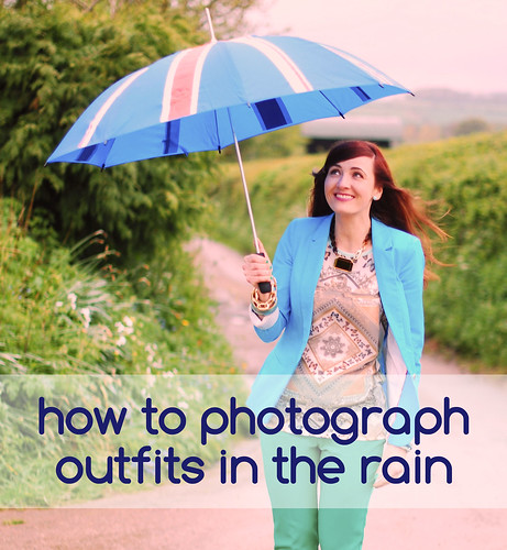 7 Tips For Photographing Outfits In The Rain
