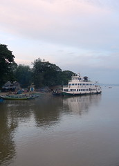 Slow Ferry on the Irrawaddy