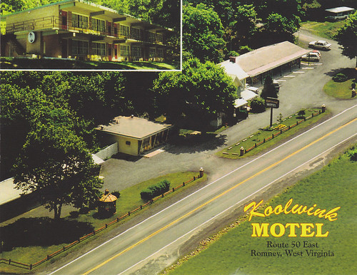 Koolwink Motel (postcard scan)