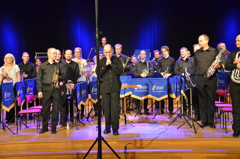 Brassbandfestivalen 2013 - Windcorp Brass Band, dirigent Philip McCann (Foto: Olof Forsberg)