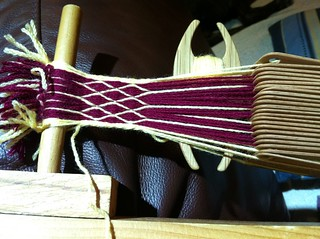 Now on the loom: