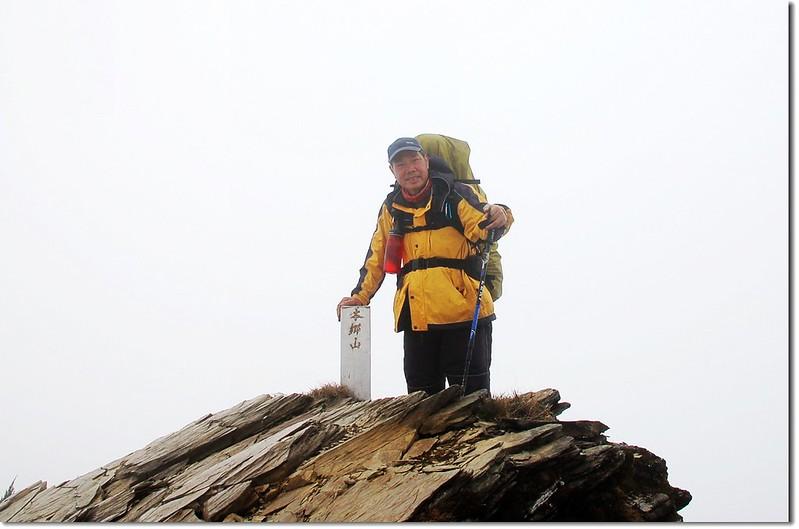 本鄉山山頂(Elev. 3447 m)