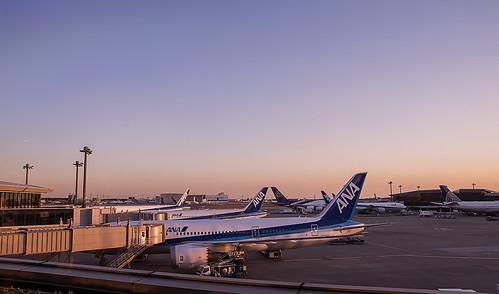 Narita Sunset