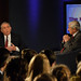 Dan Rather and Marvin Kalb Speaking Before a Live Studio Audience at the Kalb Report at the National Press Club by SamHardgrove