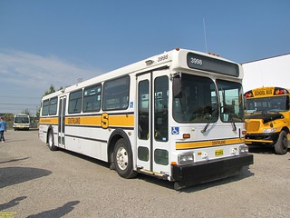 1995 New Flyer C40 #3998 (Ex Translink #3266)