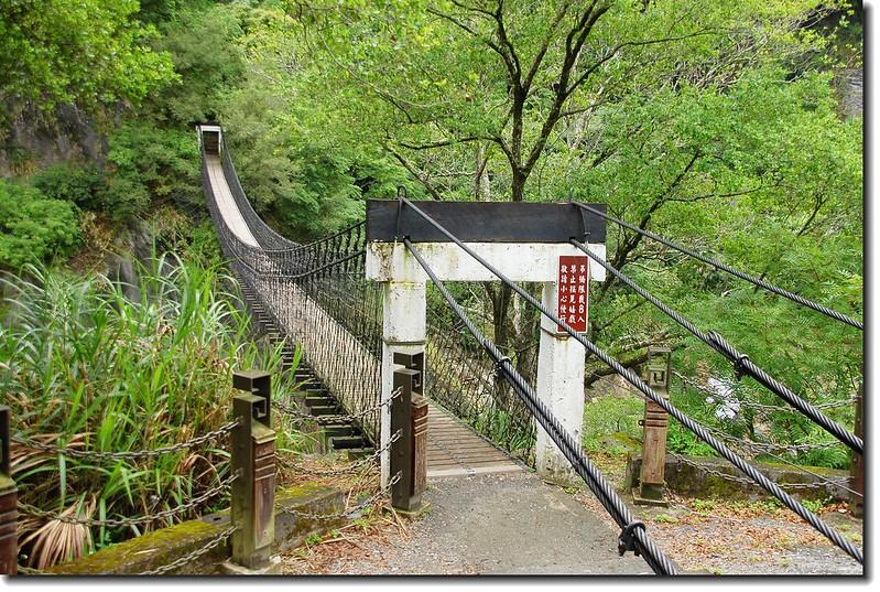 岳王亭吊橋 3