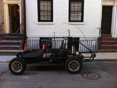 All electric dune buggy/sandrail